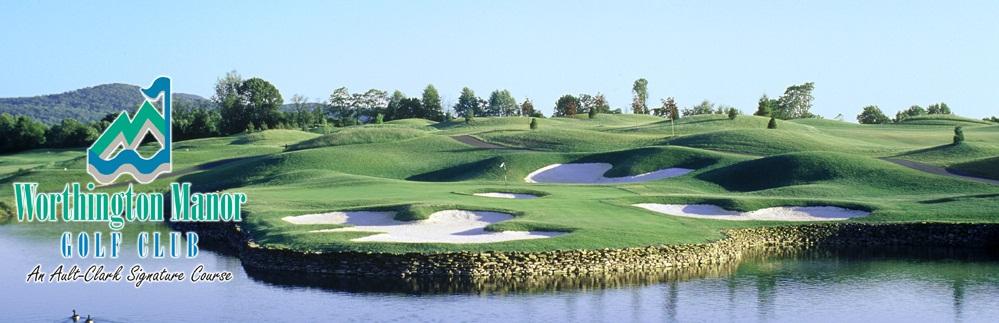 Beautiful Worthington Manor Golf Course